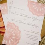 Convites de Casamento com Fontes Básicas  e  Cursivas