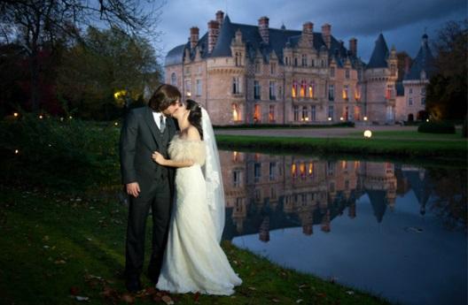 casamento em um castelo na Europa