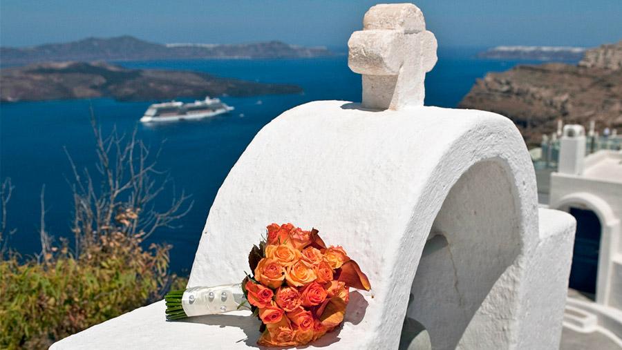 Casamento em Santorini - Grécia - Agência Travel Zone