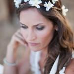 Coroa de Flores Naturais para Noivas