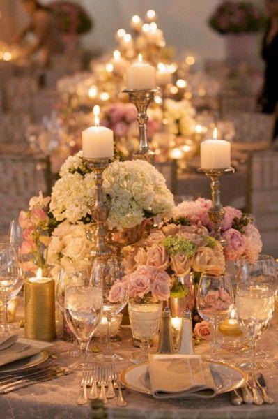 Velas na Decora231227o do Casamento Cerim244nia e Festa  : velas na decorao do casamento from clubenoivas.com size 399 x 600 jpeg 48kB