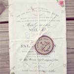 Convites de Casamento Diferentes - Flores