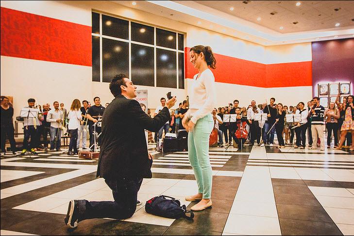 Noivado Surpresa Maria Gabriela e Aldo Neto - Cinema do Shopping Vitória - ES