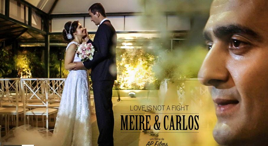 Vídeo de Casamento - Melhores momentos - Meire e Carlos