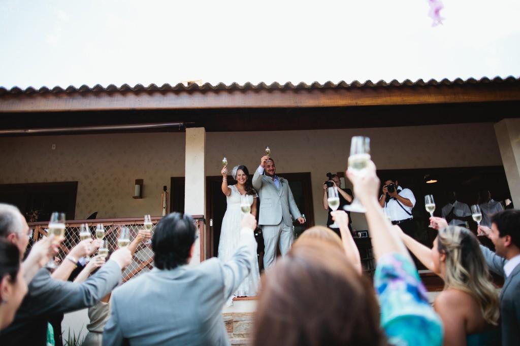 Casamento assessorado por Regiane Sampaio - da Bossa Noiva, assessoria em eventos especiais