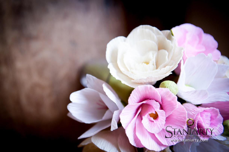 Bouquet de Noiva feito com flores de papel - Carmen Rein