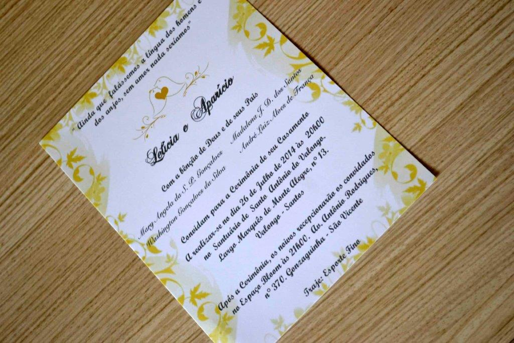 Modelo de Convite para Convite de papel rendado