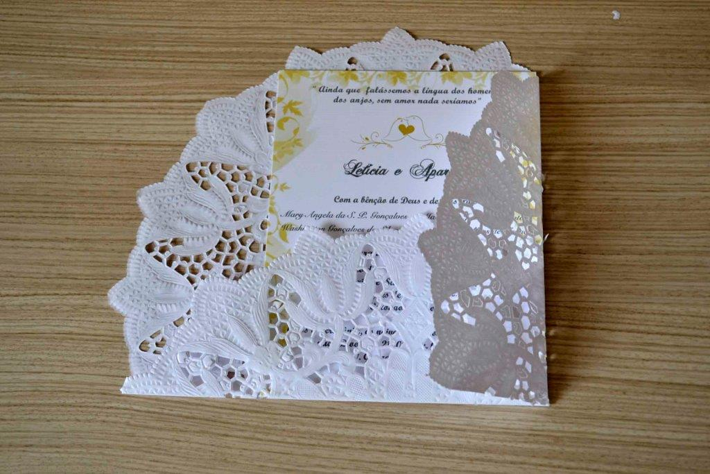 Tutorial - Convite de papel rendado 04