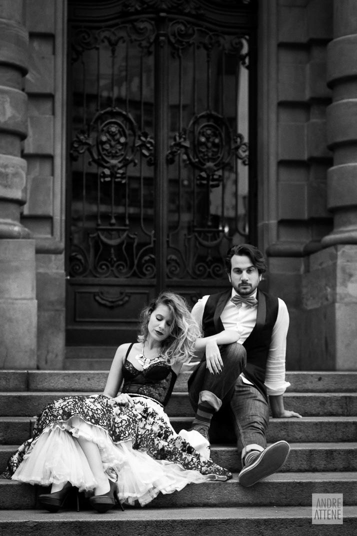 Preto no Branco na Velha Augusta - Foto Andre Attene - Noivos Juliana e Rodrigo (27)