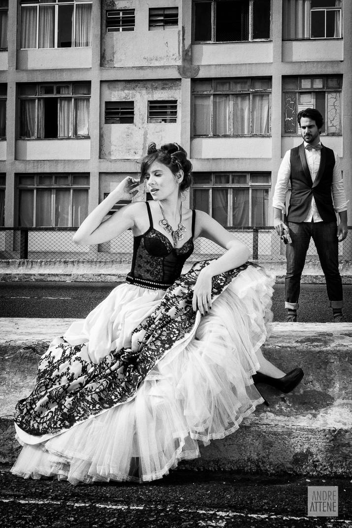 Preto no Branco na Velha Augusta - Foto Andre Attene - Noivos Juliana e Rodrigo (3)
