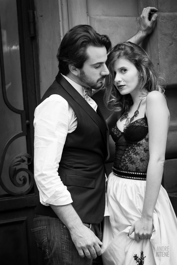 Preto no Branco na Velha Augusta - Foto Andre Attene - Noivos Juliana e Rodrigo (30)