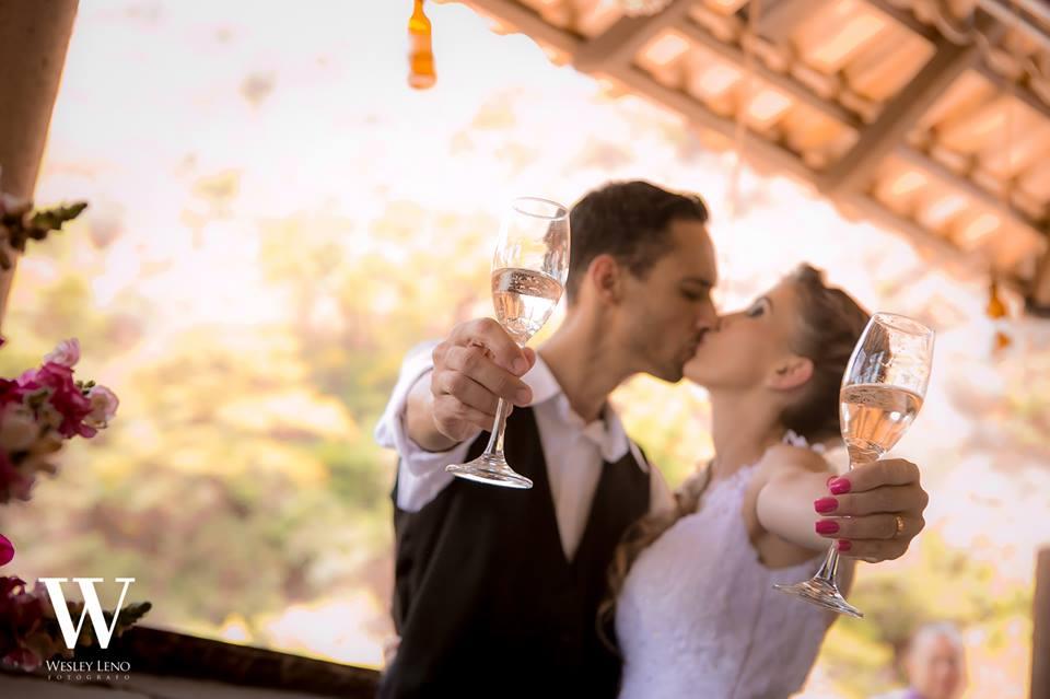 Lívia e Fabio - Casamento na Cachoeira 10