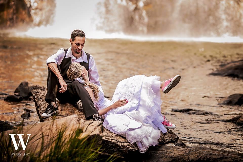 Lívia e Fabio - Casamento na Cachoeira 5