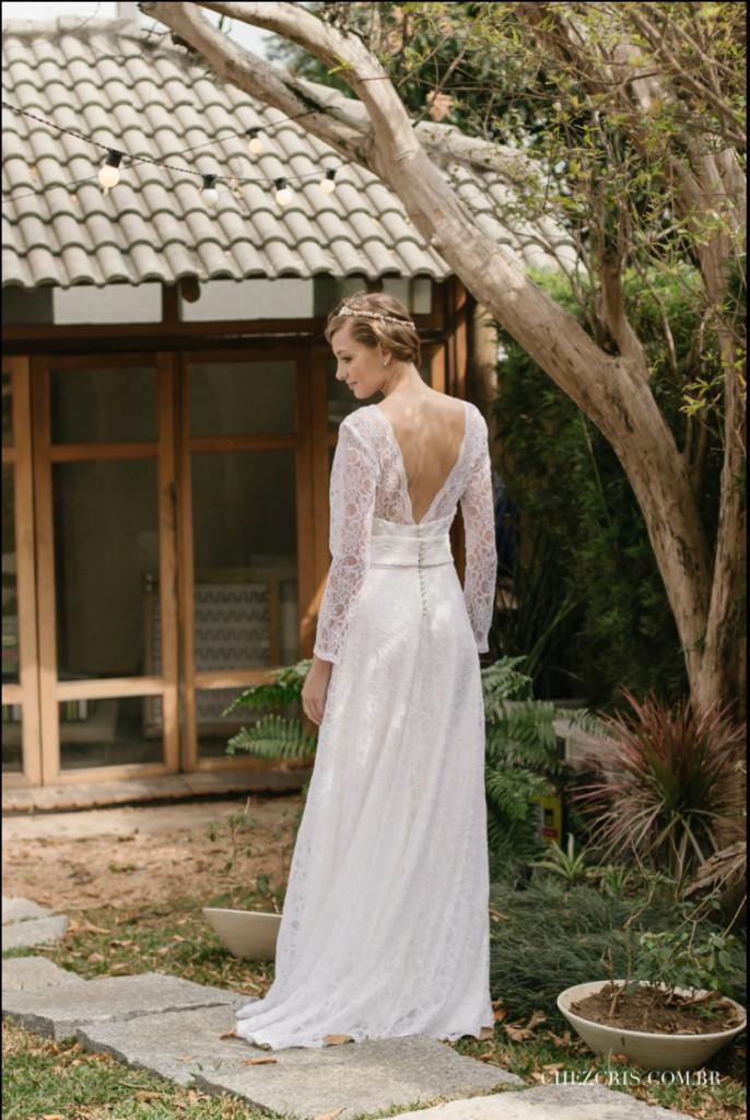 Vestido de Noiva Vintage - Linha Petit Marriage por Lascivité Foto Chez Cris