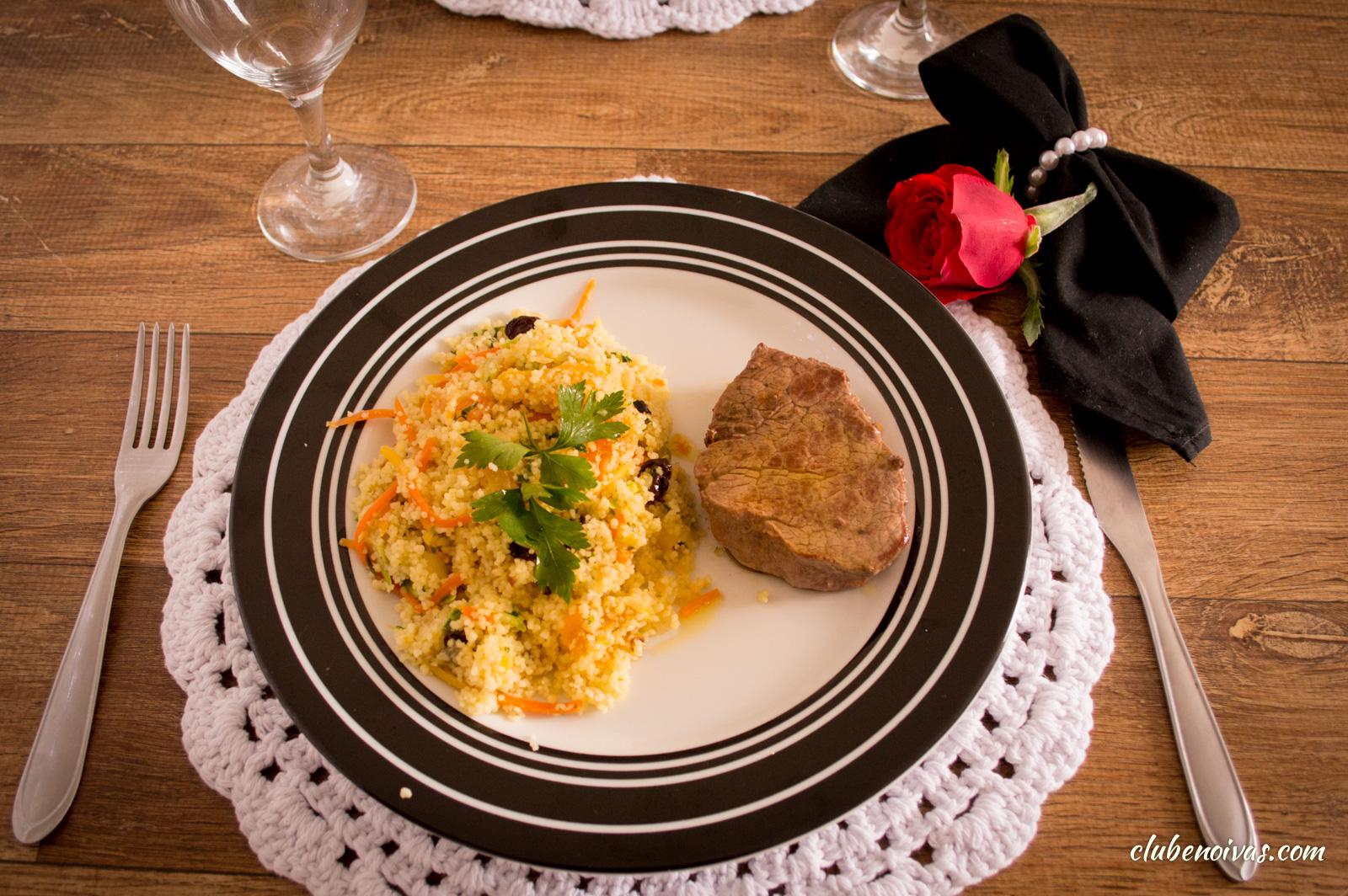 Receitas Do Jantar De Aniversário Risoto Carne E Bolo Clube Noivas