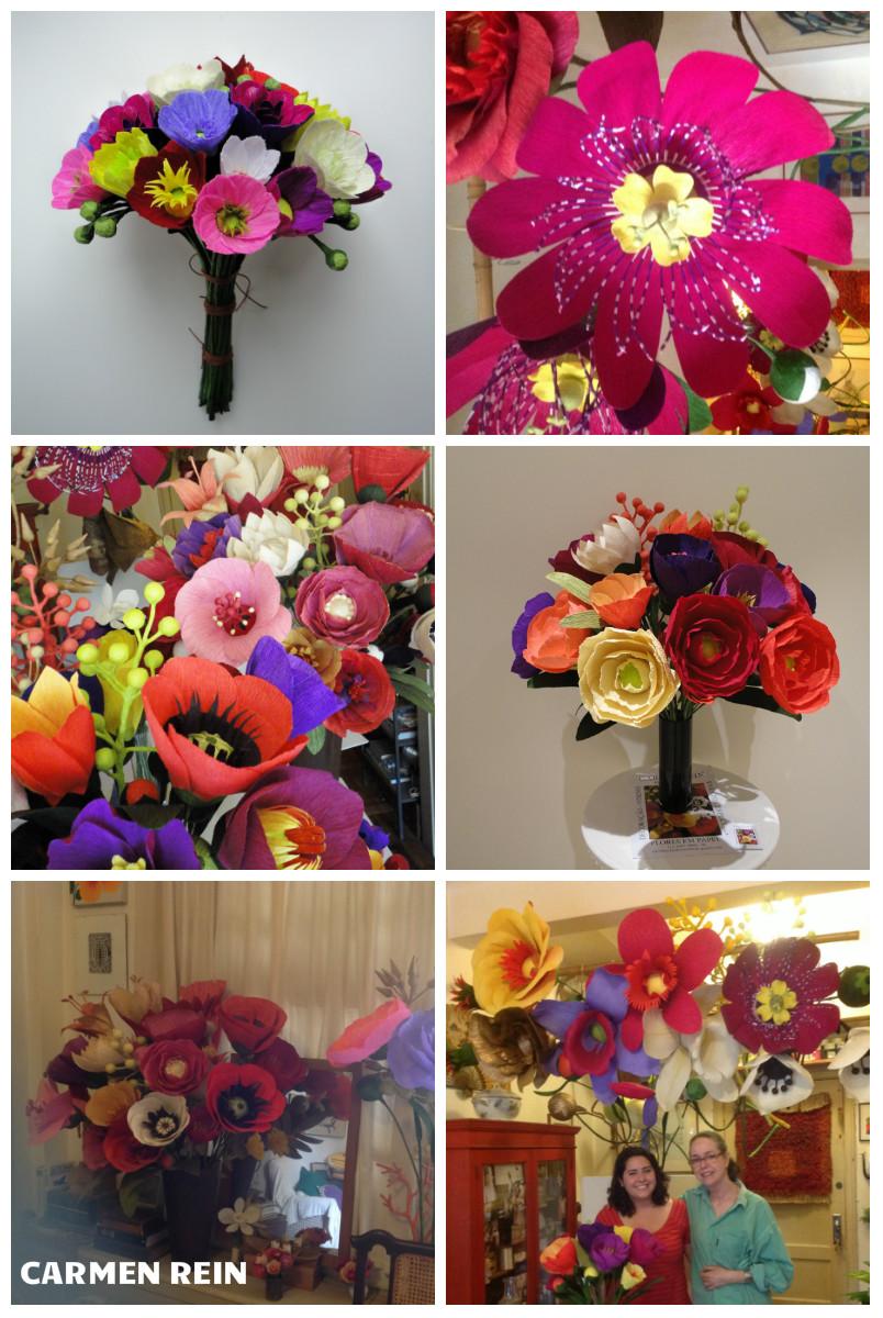 As Flores De Papel Da Carmen Rein Clube Noivas