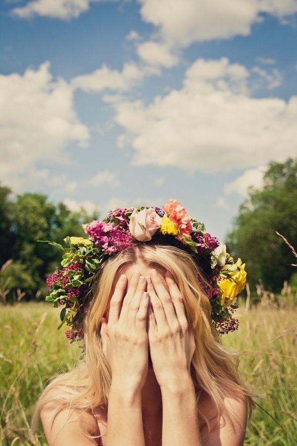 Penteados com flores para noivas – Galeria de Sexta