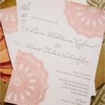 Convite de Casamento - Crochê