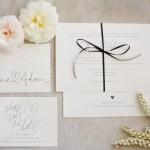 Convite de Casamento Simples e Moderno