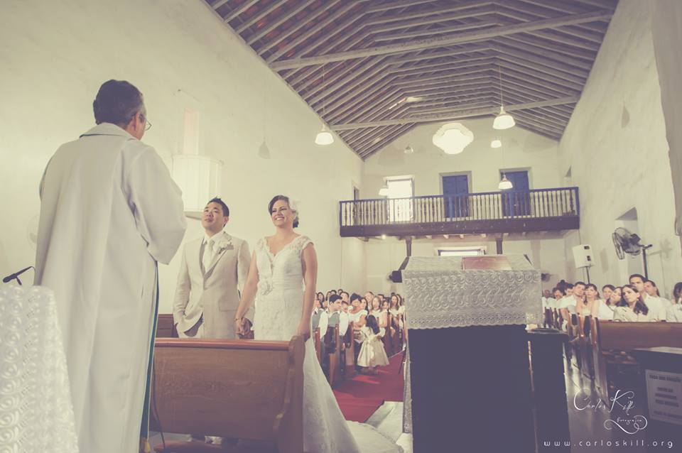 Thais e Akira - Cerimônia - Igreja dos Reis Magos - Anchieta - ES 4