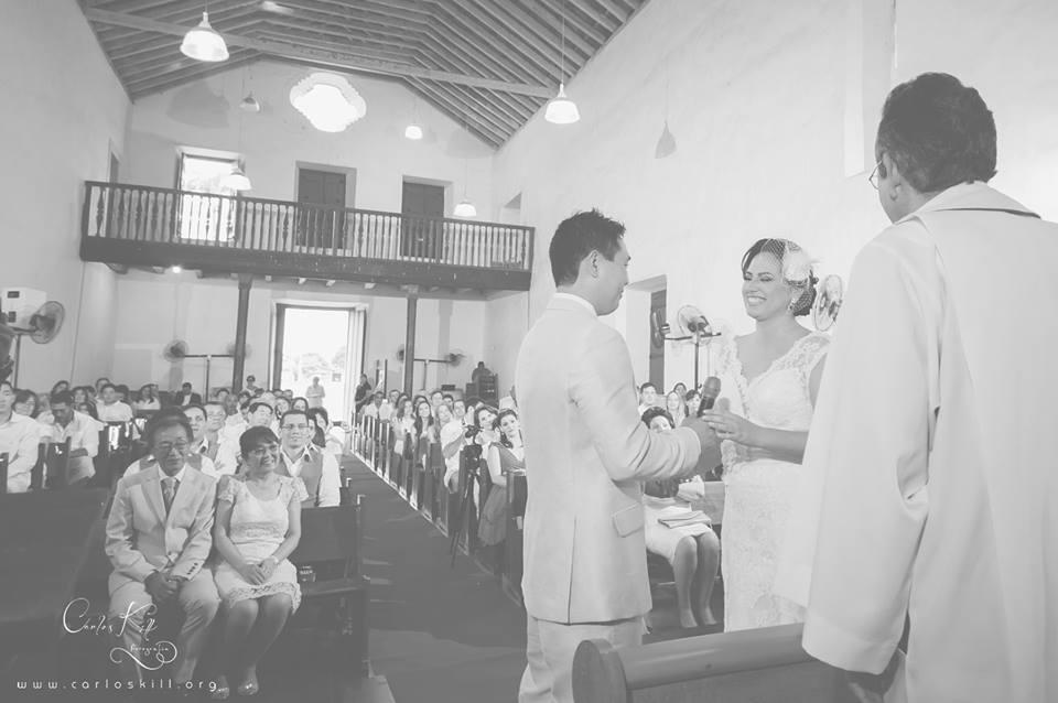 Thais e Akira - Cerimônia - Igreja dos Reis Magos - Anchieta - ES 6