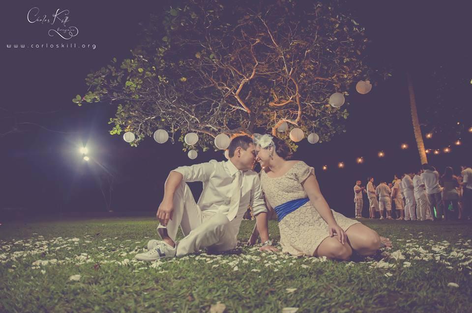 Thais e Akira - Mini Wedding - Azul e branco - 18