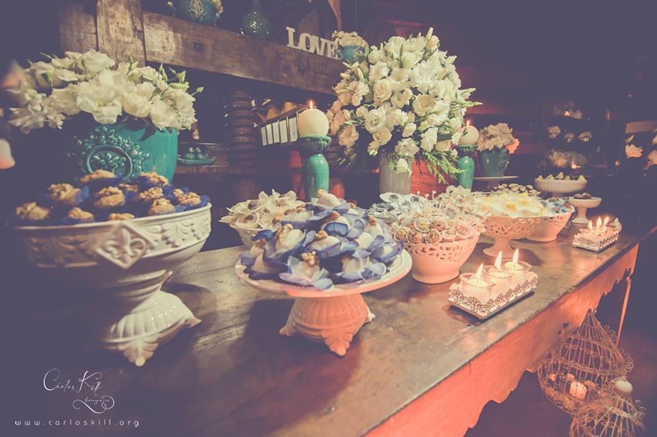 Thais e Akira - Mini Wedding - Azul e branco - 5
