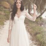 vestido de noiva curto - BHLDN