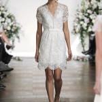 vestido de noiva curto Jenny Packham