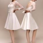vestido de noiva curto - Max Chaoul 2013