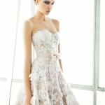 vestido de noiva curto -  Mira Zwillinger
