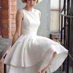 vestido de noiva curto - Tobi Hannah 2013