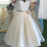 vestido de noiva curto - vintage