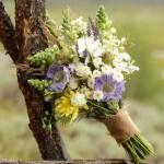 buquê desestruturado flores do campo