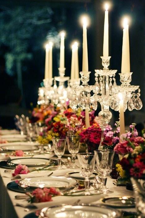 mesa comunitária casamento