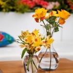 Decoração Amarela - Astroemérias e Rosas - Por Roberta Gouvea