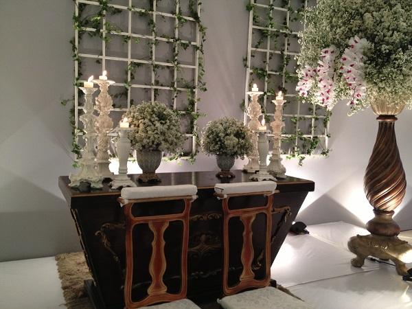 Decoração da Cerimônia com Aster e Orquídeas (2)