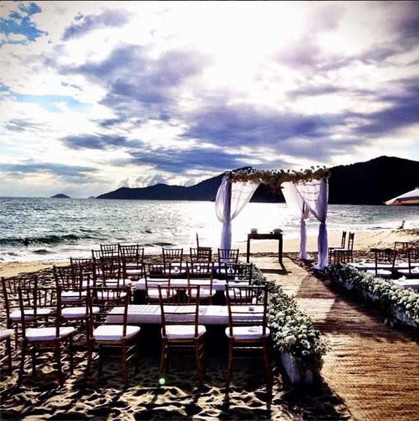 Cerimônia de Casamento na Praia