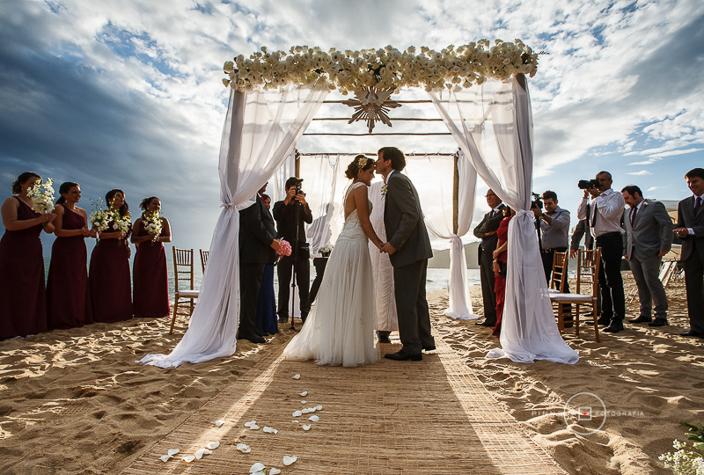 Casamento na Praia - Tábata e Carlos 8