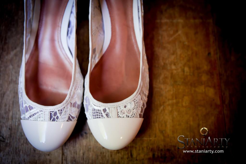 Sapato do Casamento  - Mira e Matheus